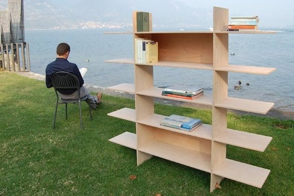 Bookcase Using a Wood Router