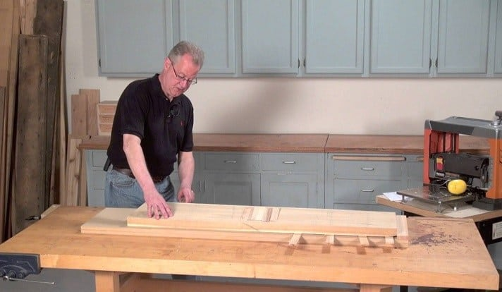 Wooden Surface by Using a Handheld Router